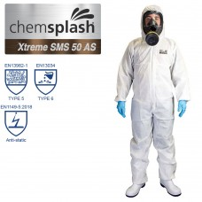 Chemsplash Xtreme SMS 50 Anti-Static Coverall Type 5/6