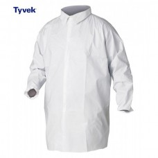 Tyvek Zip Fasten Labcoat Type PB(6B)